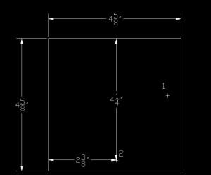 Illustration of Point 2 on the shelf brace