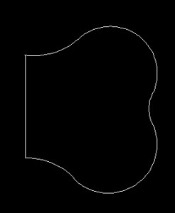 Image of the inner bow pattern